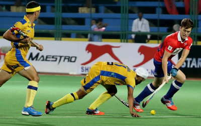 Hero HIL :: Dabang Mumbai Vs Jaypee Punjab Warriors