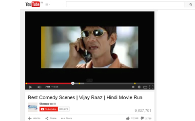 Best Comedy Scenes | Vijay Raaz | Hindi Movie Run