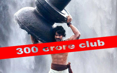 S.S. Rajamouli's Super Smash 'Baahubali' enters the Rs 300 crore club in just nine days.