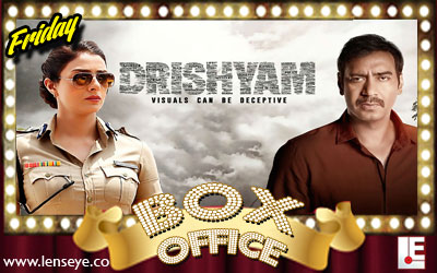 Friday Box Office :: Drishyam [ 31 July 2015 ]