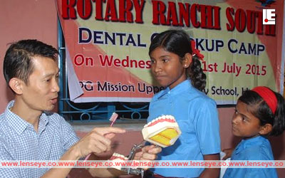 Dental Check up Camp by Rotary Club of Ranchi South.