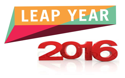Year 2016 :: The Leap Year