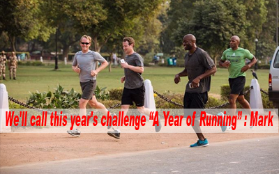 I'm going to run 365 miles and I'd love for as many people in this community to join me as possible :: Mark Zuckerberg