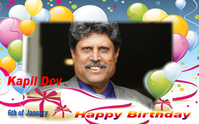 Happy Birthday :: Kapil Dev [ 6th of January ]