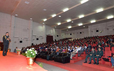 "IIM Ranchi hosted its first Leadership Speak Series ""AAROHAN"""