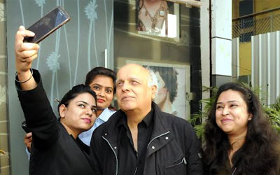 Bollywood film producer, Mukesh Bhatt in Ranchi