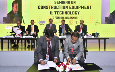 "HEC ties up with Cummins during the ""Make in India"" week in Mumbai."