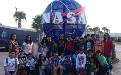 DIPSITES OF Ranchi on an Educational trip to NASA