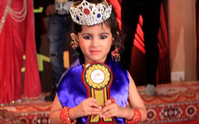 Nainika Gupta ::  2nd runnerup Miss Flame of Fashion 2016