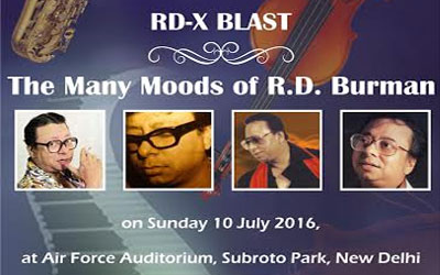 RD-X BLAST : The Many Moods of R.D. Burman on 10th of July 2016 in New Delhi.