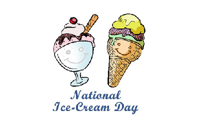 National Ice Cream Day Third Sunday in July