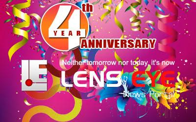 Lens Eye - Fourth Anniversary