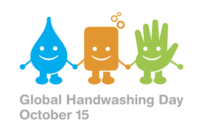 Global Hand Washing Day - 15 October : Hand-washing with Soap can Prevent Child Deaths.