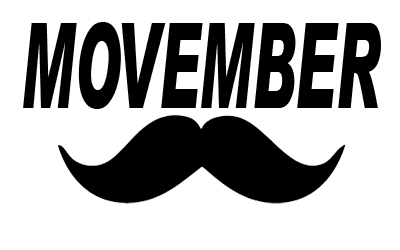 Something Different :: Movember : Moustaches in November.