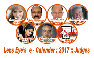 Lens Eye's   e - Calender : 2017 :: Judging Over : Thanks Judges