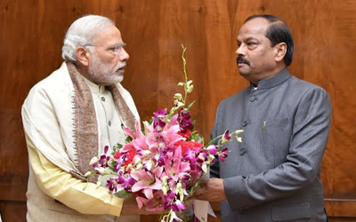 Narendra Modi and raghubar das