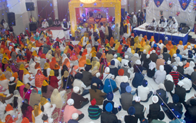 The 350th prakash parv of Shri Guru Gobind Singh ji