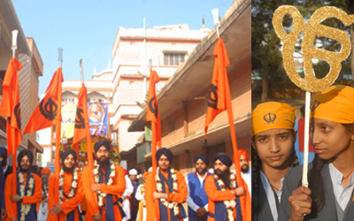 The 350th prakash parv of Shri Guru Gobind Singh ji :: The Procession