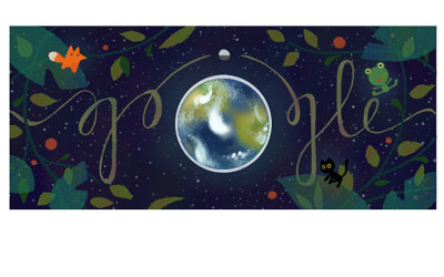 Earth Day - Google doodle