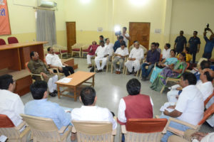 B.J.P :: Review meeting with party leaders regarding Litipara by polls