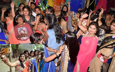 Ranchi Womens college :: Fresher's party
