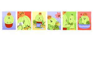 Google celebrated Mothers day by an animated Doodle