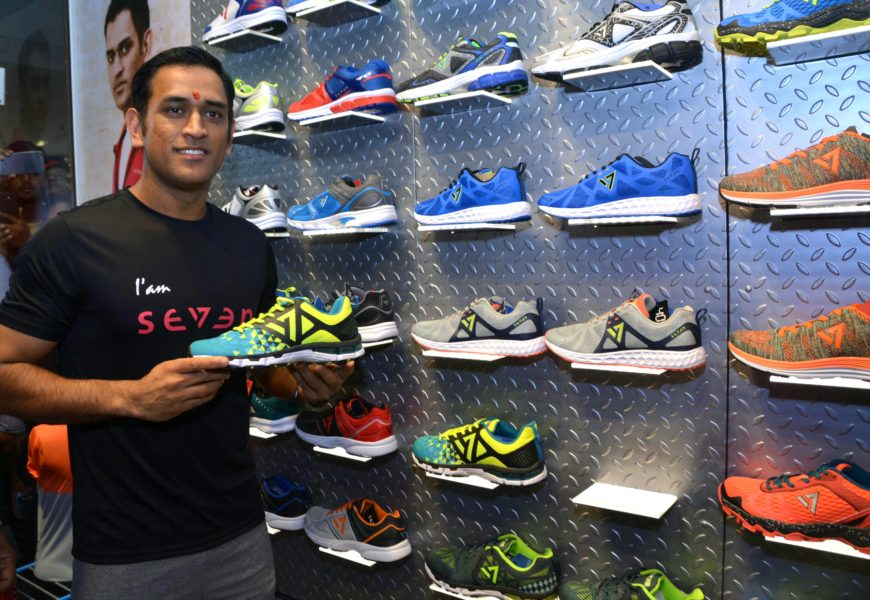 Lens Eye Exclusive ::MS Dhoni's brand store open's in Ranchi