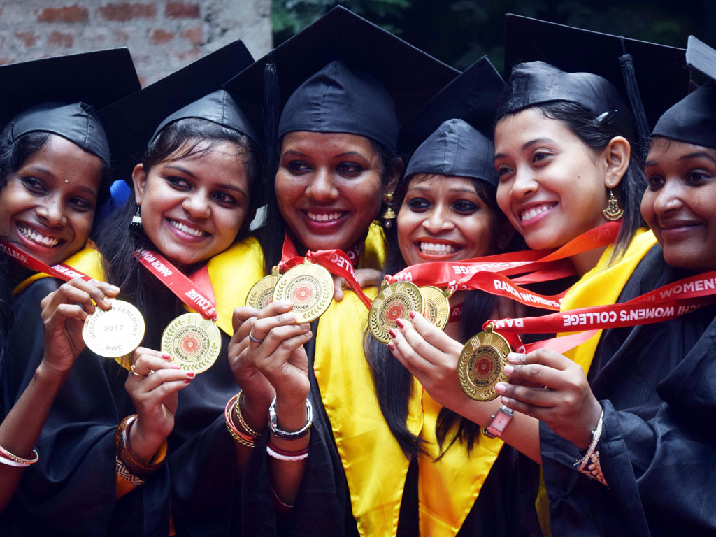 Ranchi Women's college :: Convocation Ceremony