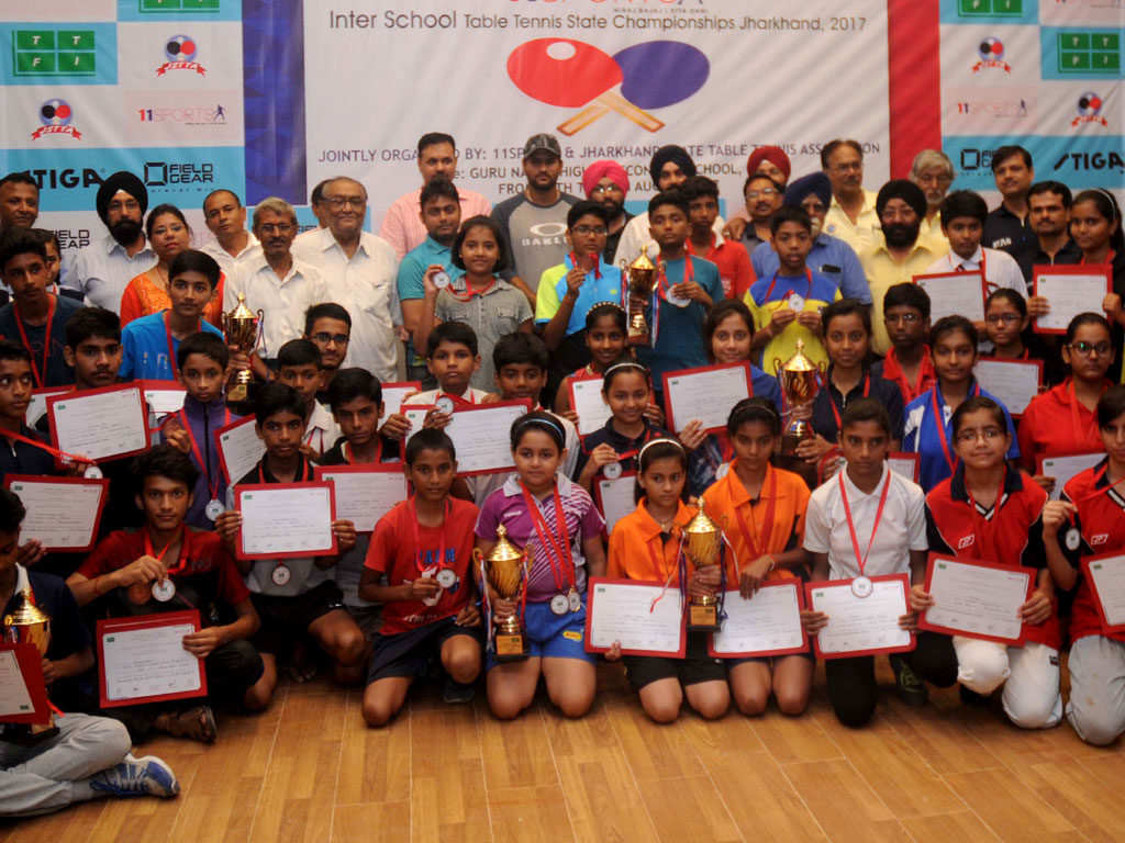 'Inter school Table Tennis State Championships
