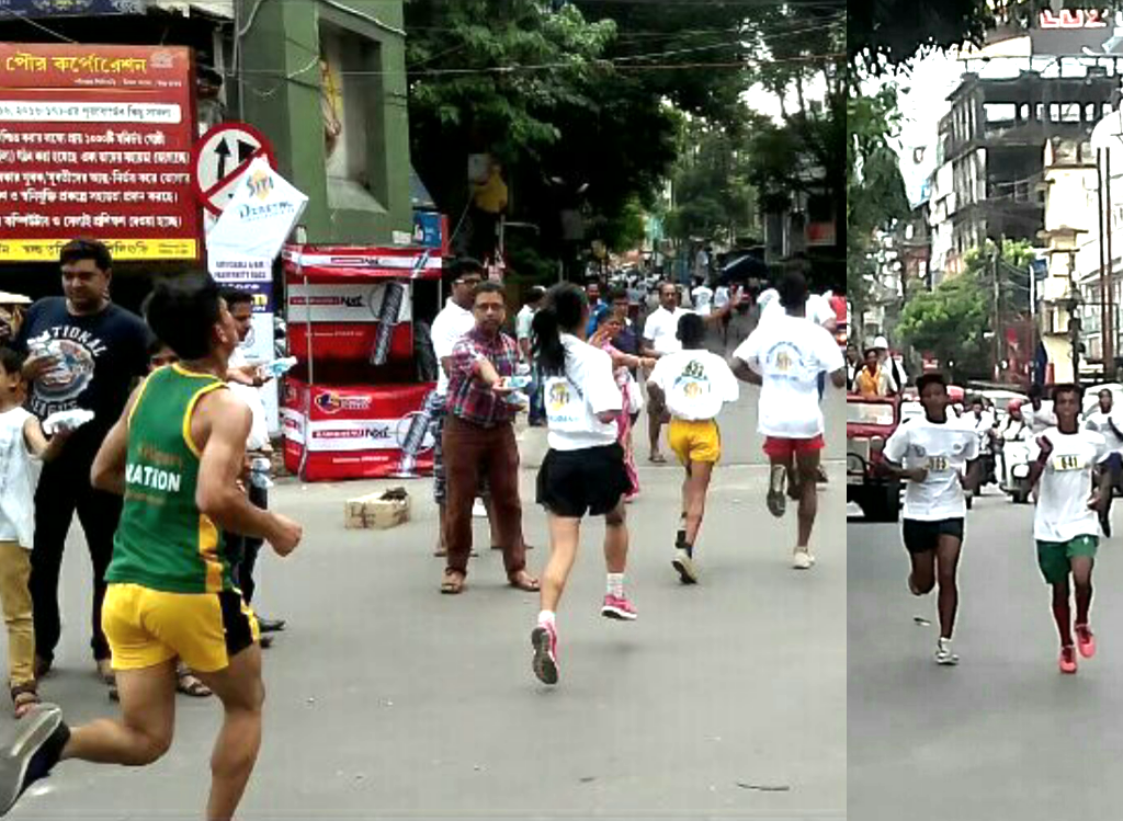 Siliguri :: Half Marathon Race on the occasion of Mahalaya.