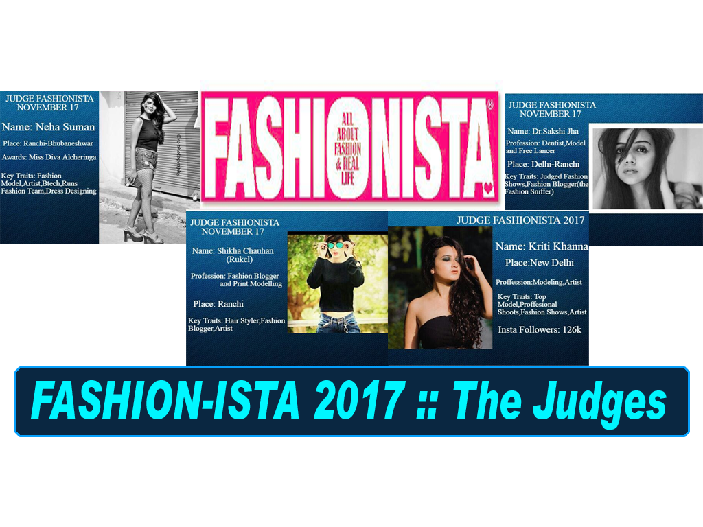 FASHION-ISTA 2017 :: The Judges