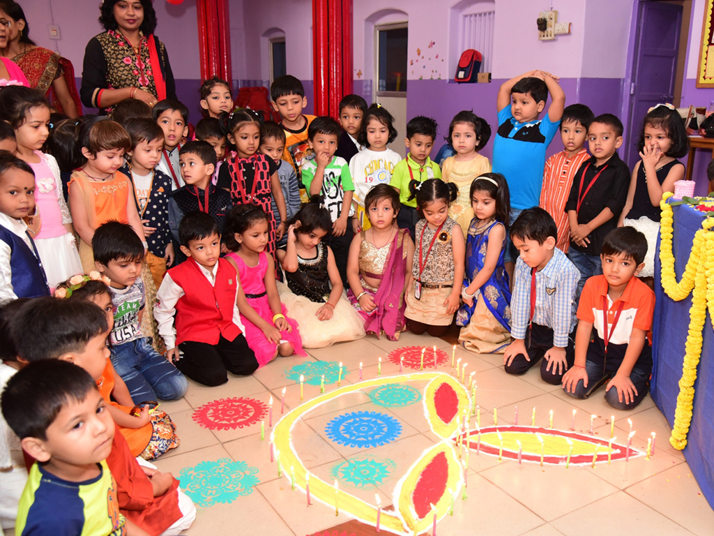 Diwali celebration at Little Angel School