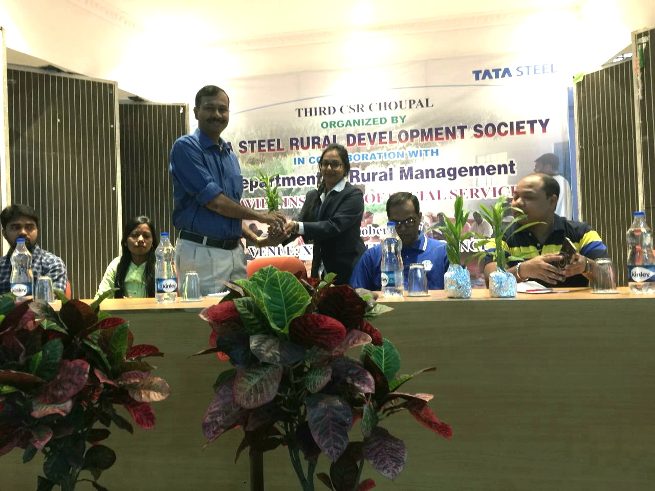 The 3rd CSR Chaupal by the TSRDS (Tata Steel Rural Development Society)