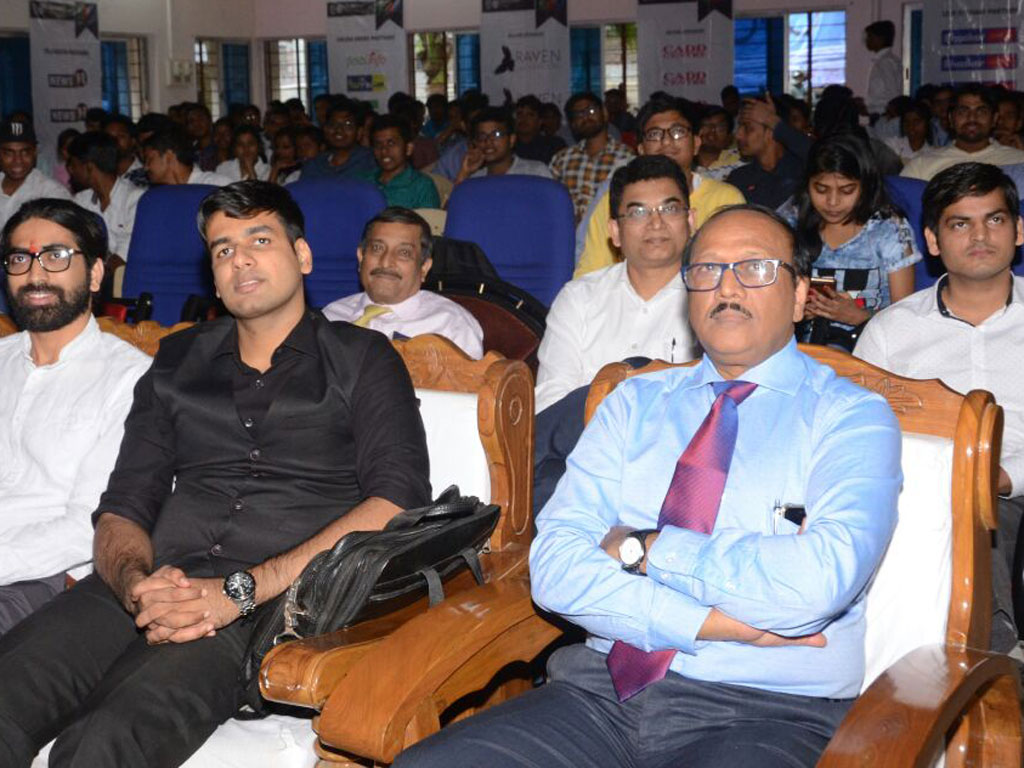 The 9th Entrepreneurship Awareness Drive in ISM Ranchi.