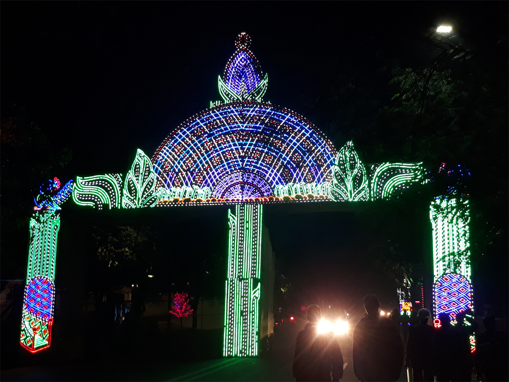 The 17th Foundation of Jharkhand :: The Lighting