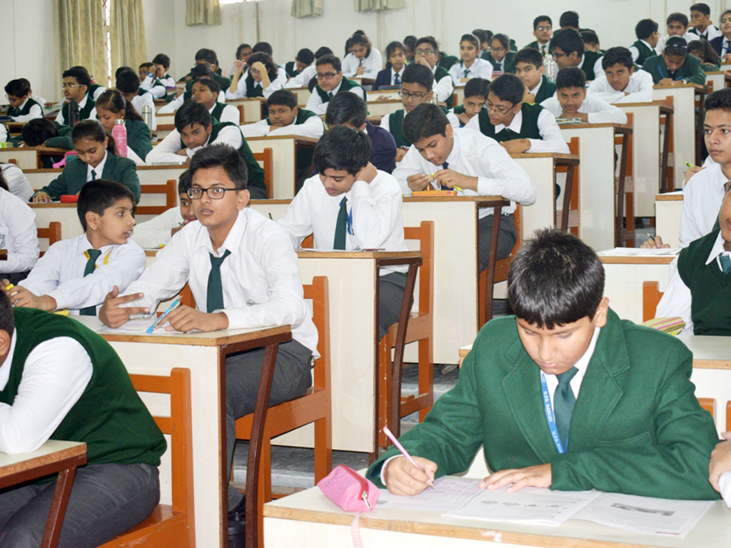 International Benchmark Test at DPS Ranchi