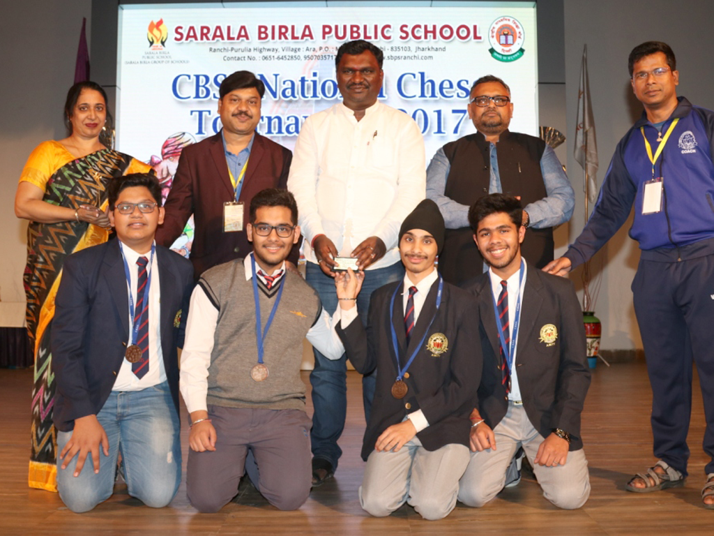 CBSE National Chess Tournament 2017 :: The Closing Ceremony