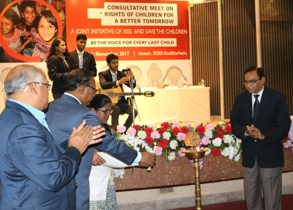 XISS :: Consultative Meet on Child Rights