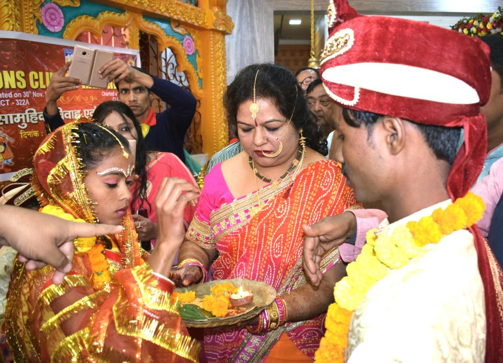Mass mariage at Ram Mandir, Ranchi.