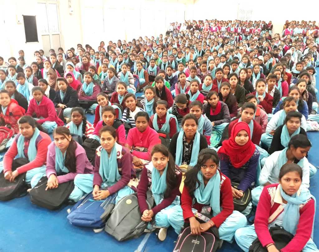 Students during the programme ( Lensman - Hardeep Singh )
