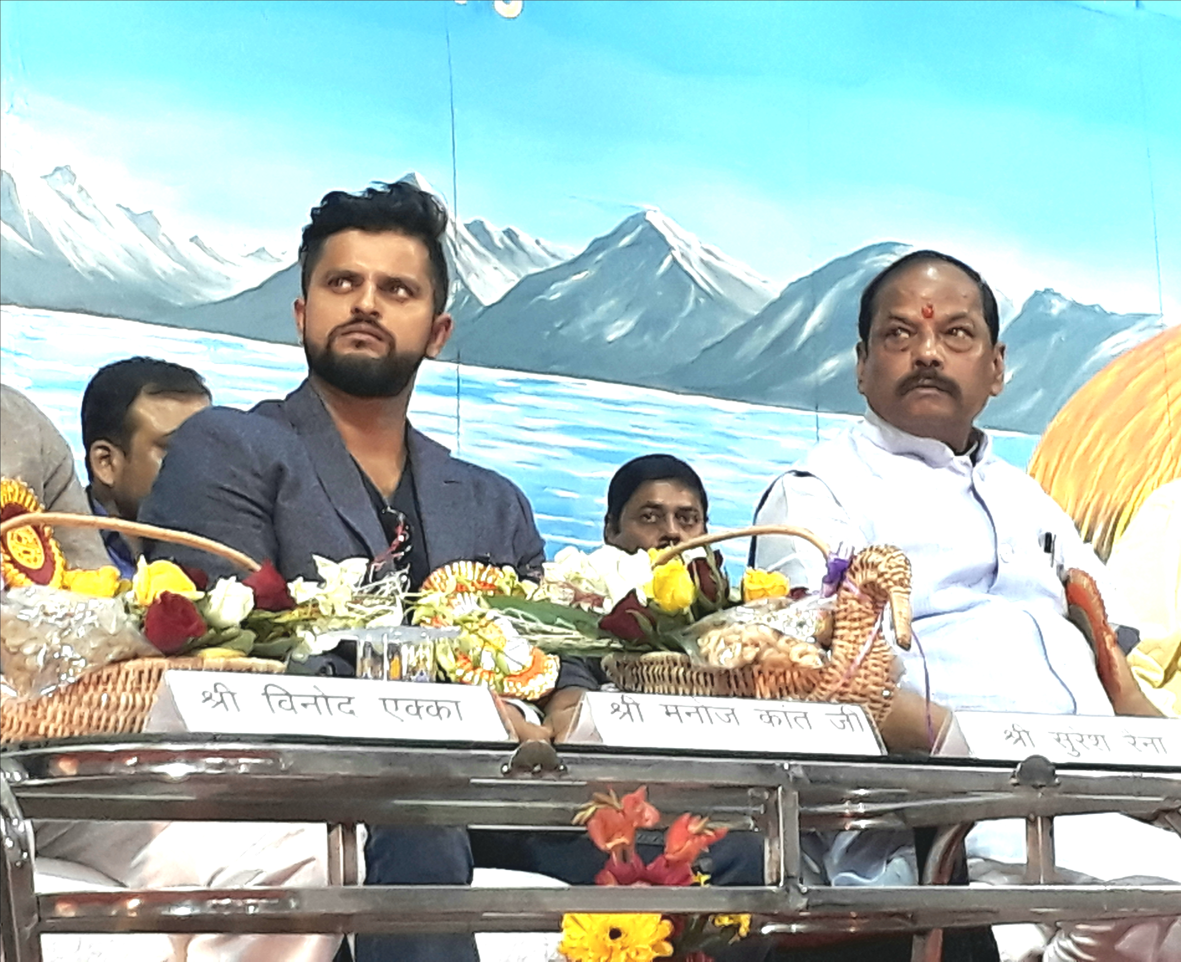 Cricketer Suresh Raina at ABVP National Convention
