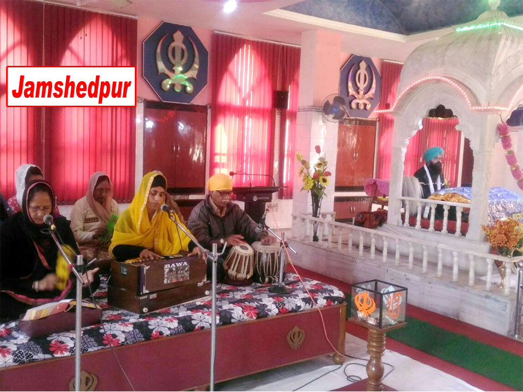 Kirtan Darbar on occassion of Prakash Parv of Shri Guru Gobind Singh jee at Gurudwara Sonari, Jamshedpur