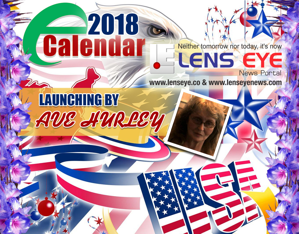 Lens Eye e calender 2018 : Launching