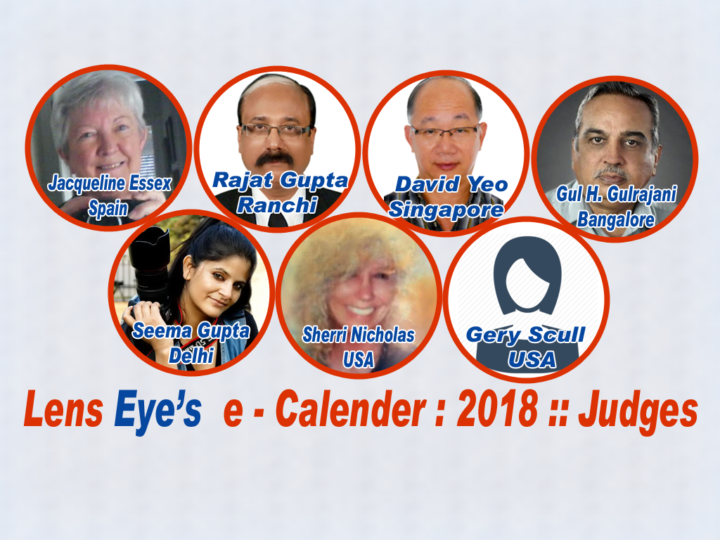 Lens Eye e calender 2018 :: The Judges