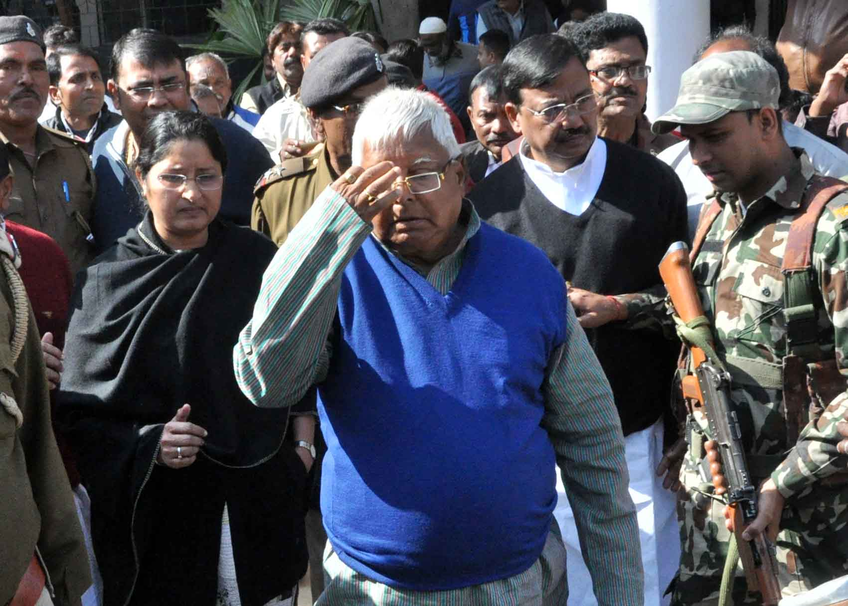 RJD Chief Lalu Prasad in special court