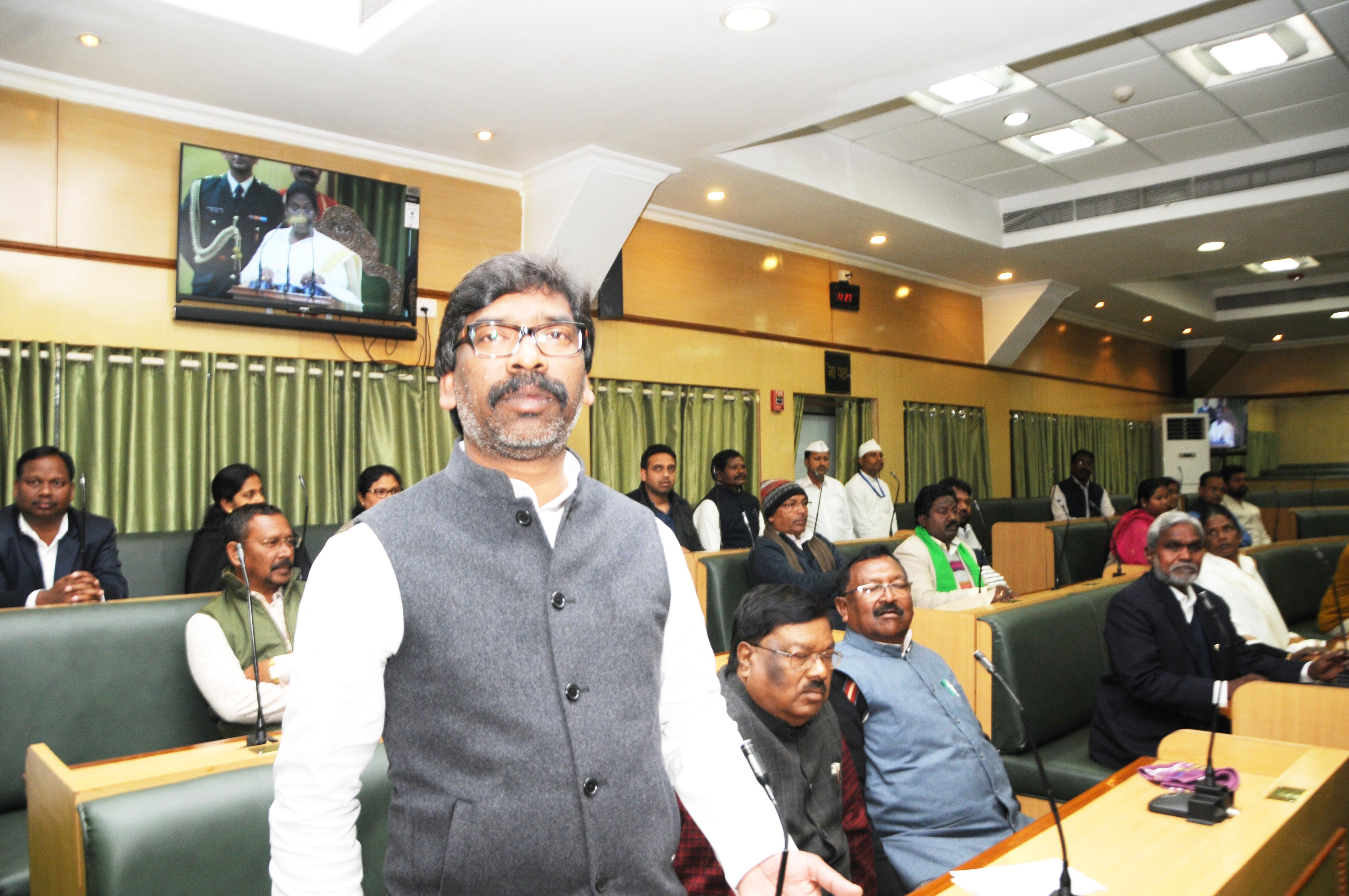 Jharkhand Assembly ::  Budget session : Day 1