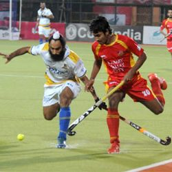 HIL :: Ranchi Rays Vs Jaypee Punjab Warriors