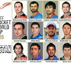 ICC Worldcup 2015 :: Afghanistan Squad