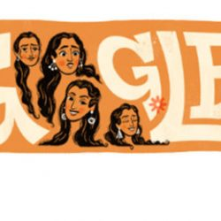 Google celebrated Nutan's 81st Birthday with a Doodle.