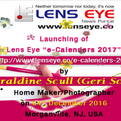 Lens Eye's  e – calendar : 2017 Launched in New Jersey, USA.